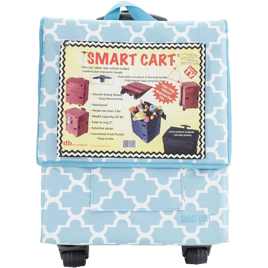 dbest products Trendy Smart Cart, Moroccan