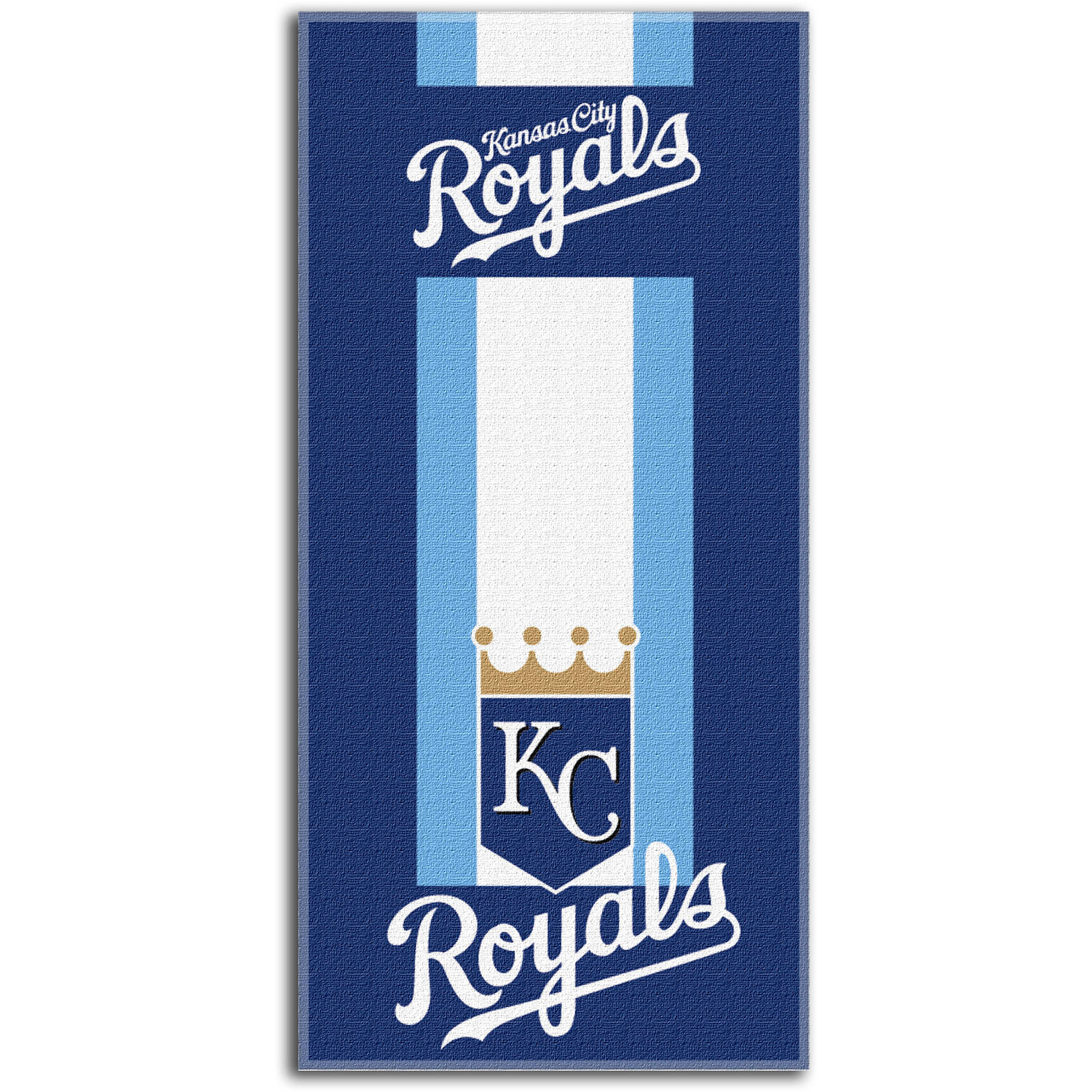 "MLB Kansas City Royals ""Zone Read"" 30"" x 60"" Beach Towel"