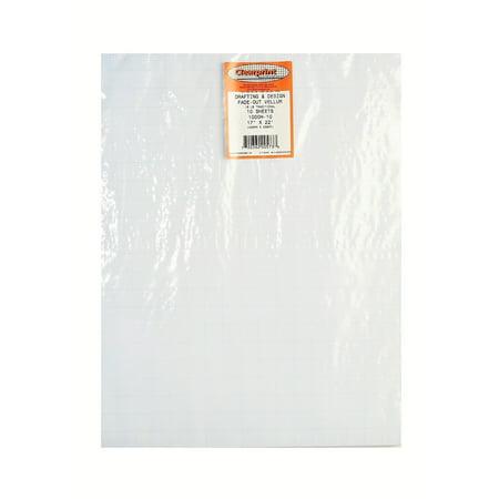 Clearprint Fade Out Design And Sketch Vellum Grid Walmartcom