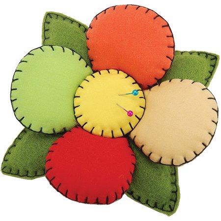 Dritz Fons and Porter Novelty Pin Cushion, Flower
