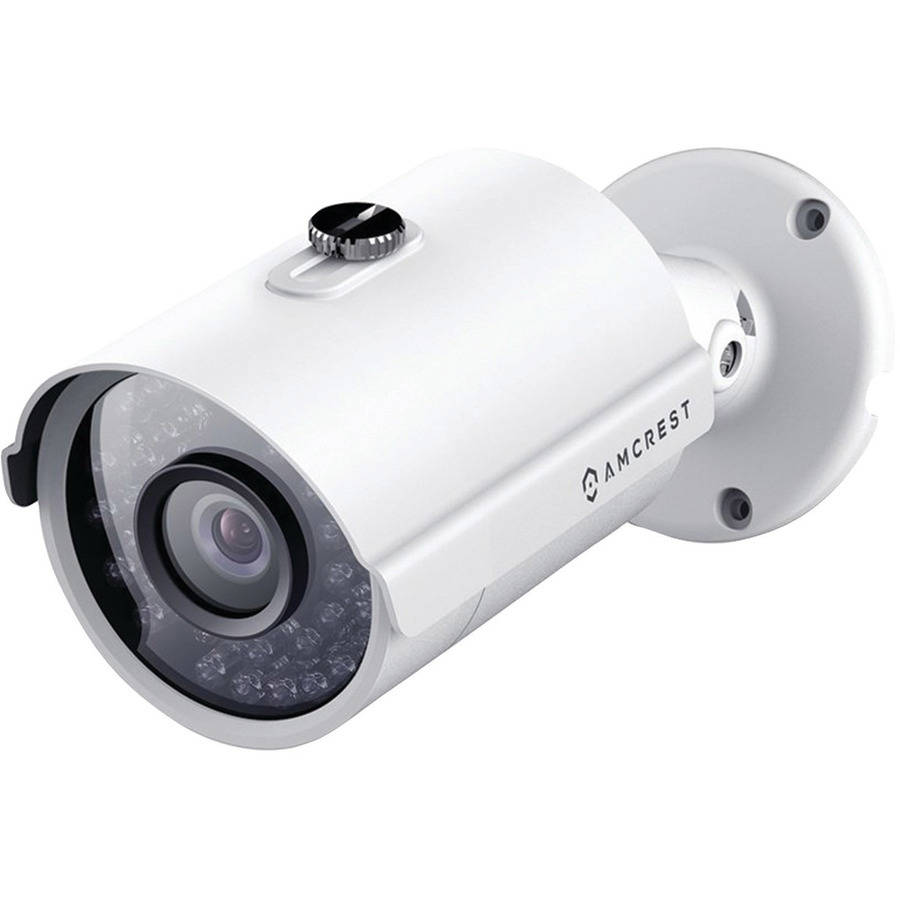Amcrest IP2M-842EW 2.0MP 1080p Outdoor Bullet PoE IP Came...