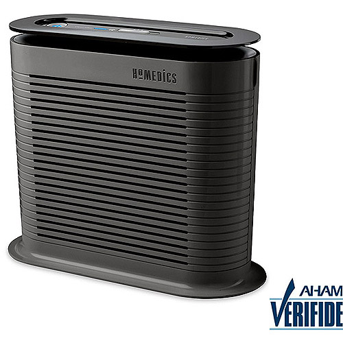 HoMedics Hypoallergenic HEPA Air Cleaner, Black AF-75