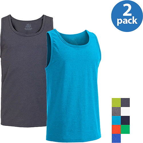 Fruit of the Loom Men's Tank, 2 Pack