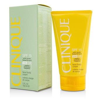 Clinique Face / Body Cream SPF 15 UVA / UVB 5oz
