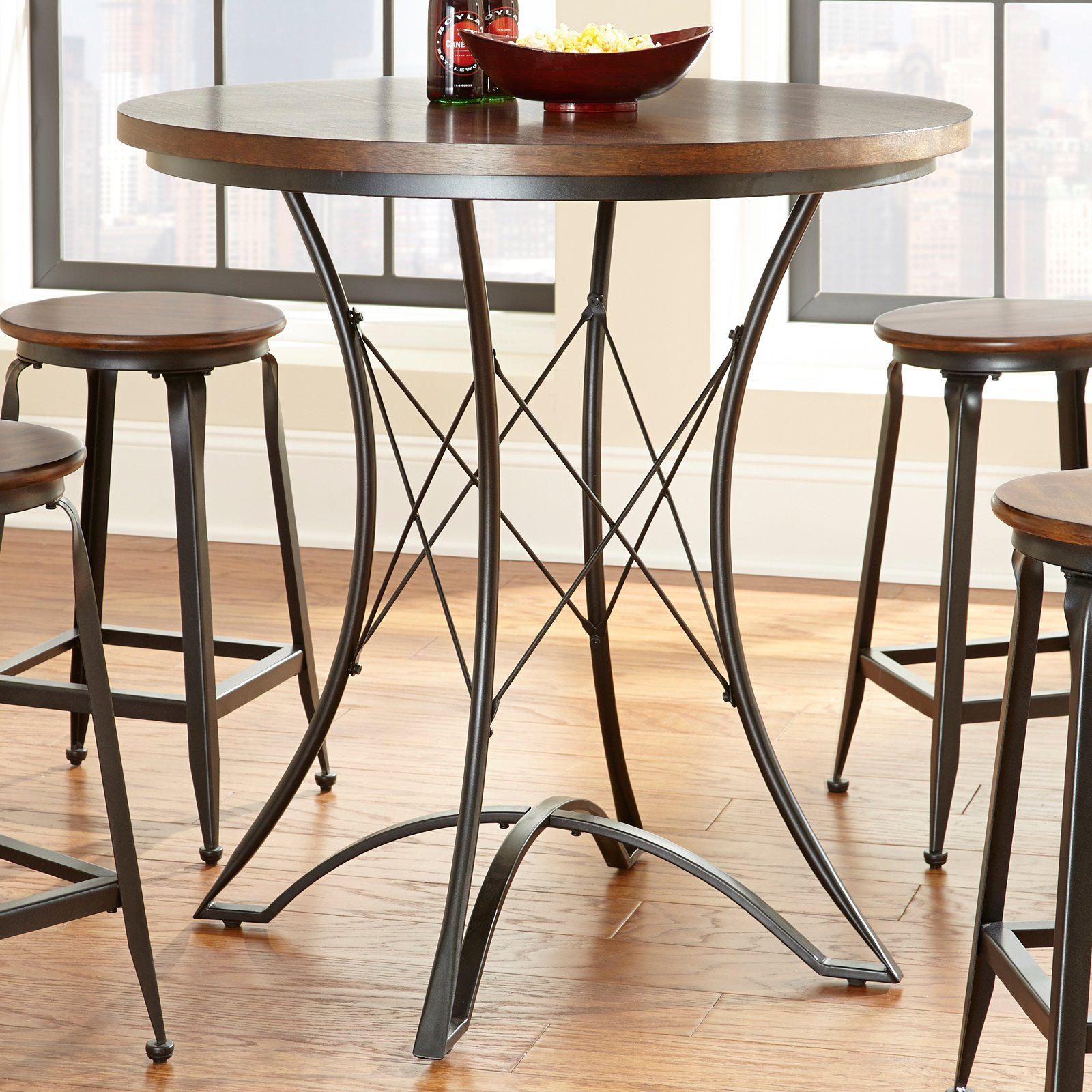 Steve Silver Adele Round Counter Height Dining Table by Steve Silver Company