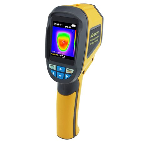 Redcolourful Handheld Thermal Imaging Camera IR Infrared Thermometer Imager HT-02