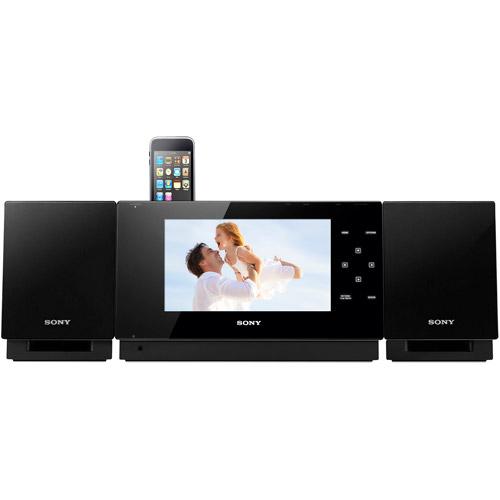 Sony WHG-SLK1I Micro Hi-Fi System with Video for iPod