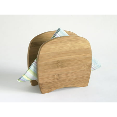 LIPPER INTERNATIONAL, INC. Napkin Holder, Adjustable, Bamboo (Diamond Ring Napkin Holders)