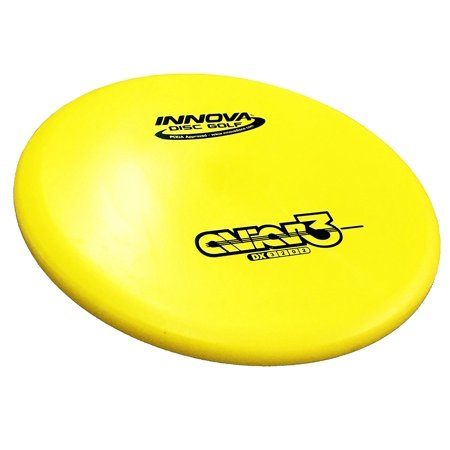 Innova DX Aviar3 Disc Golf Putter (170-175g), lat-topped and fierce, the Aviar3 is an ideal putter for short drives, aggressive upshots, and windy putts By Innova Disc
