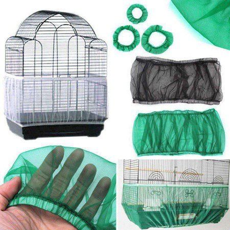 Nylon Mesh Pet Bird Cage Seed Catcher Net