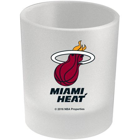 - Miami Heat 8.45oz. Frosted Rocks Glass - No Size