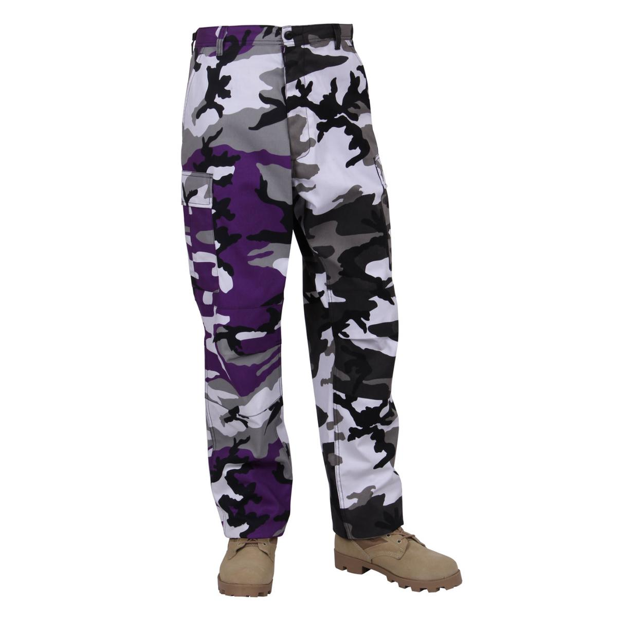 Rothco Two-Tone Camouflage Tactical BDU Cargo Pants