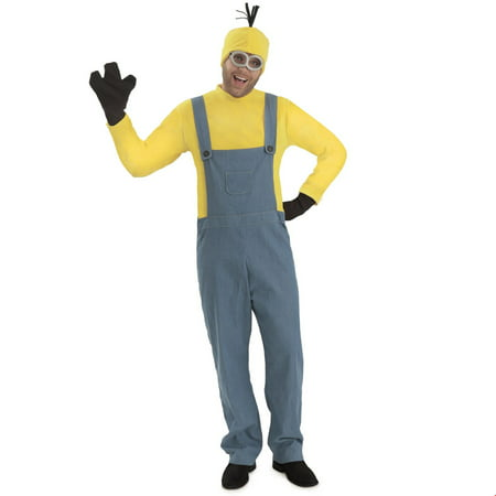 Minions™ Kevin - Men's Halloween Costume Jumpsuit](Kevin Costume)