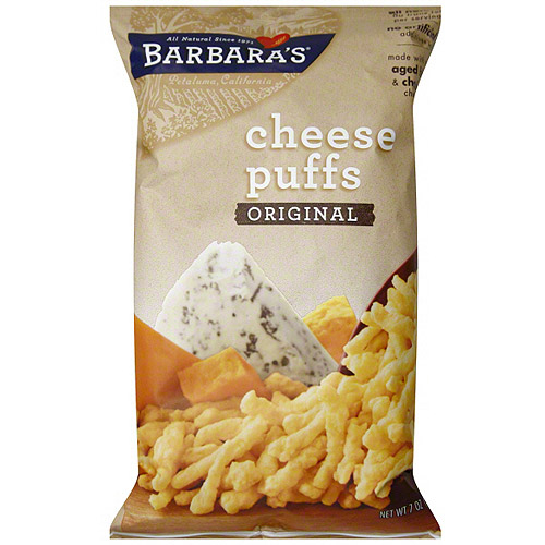 BARBARAS CHEESE PUFF ORIGINAL,7 OZ (Pack of 12