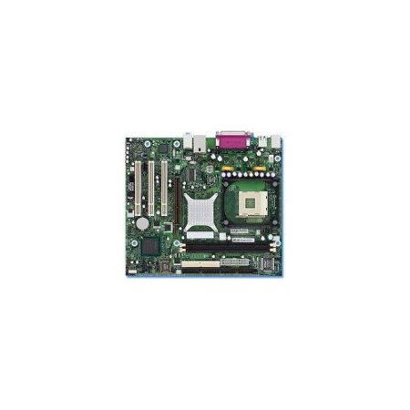 Refurbished-IntelD848PMBLSocket 478 P4 motherboard, max 3.2MHZ+, Intel 848P,ICH5 chipset, FSB800/ 533/400, 2 single channel DDR400 max 2GB, AGP8x(1.5,0.8v), 3 PCI, ATA100/66 / SATA150, On-board