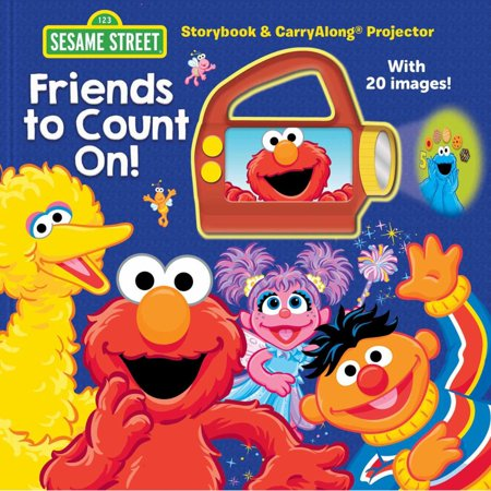 Sesame Street: Friends to Count On! : Storybook & Carryalong Projector - Sesame Street Count