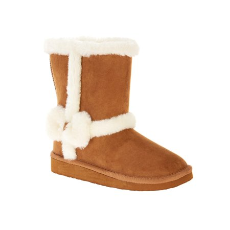 Girls Wonder Nation Shearling Boot for $<!---->