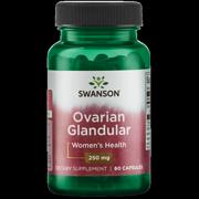 Swanson Ovarian Glandular Capsules, 250 mg, 60 Ct