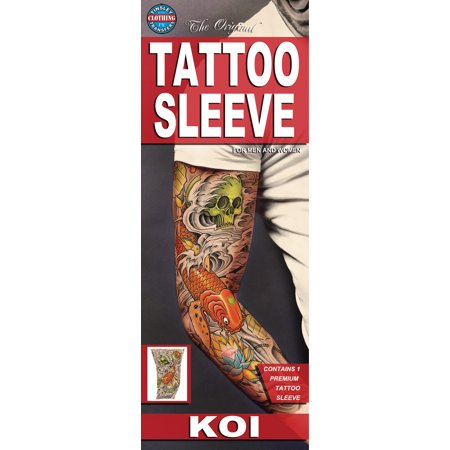 - Tinsley Transfers KOI Fish Tattoo FX Sleeve, Small/Medium
