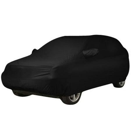 Durable Outdoor Stormproof Waterproof BreathableBlack Car Cover For Subaru - image 7 of 7