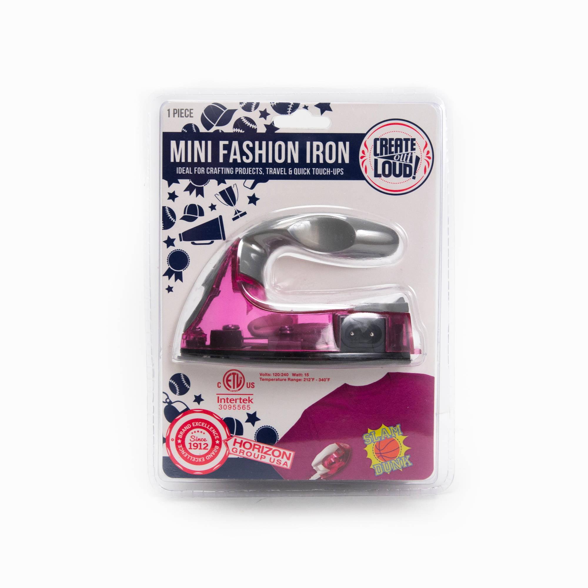 Next Style Mini Electric Fashion Craft Iron by Horizon Group USA
