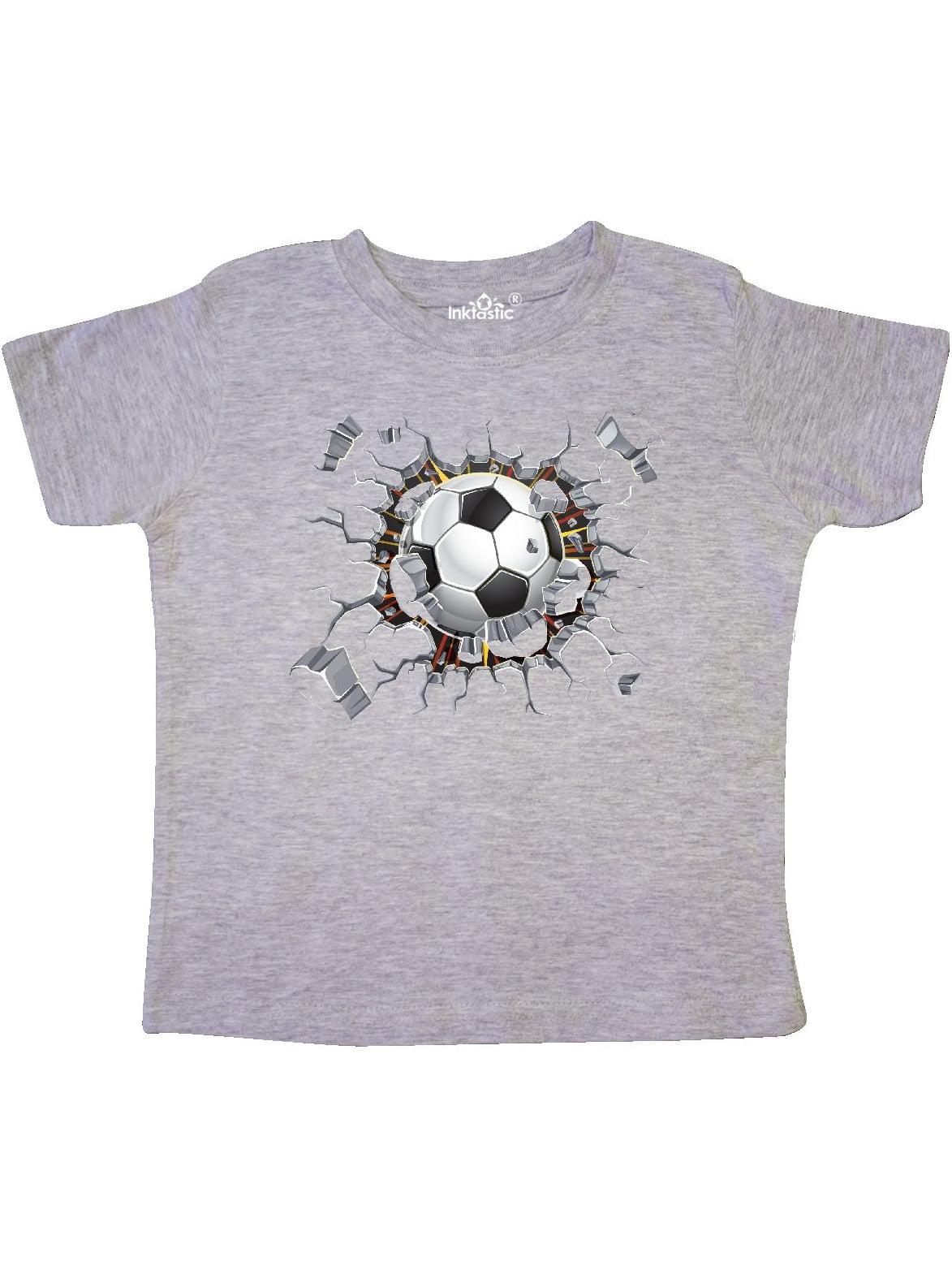 inktastic Soccer Breakthrough Toddler Long Sleeve T-Shirt