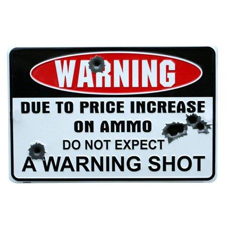 Hibetterlife Warning Wall Sign Wrought Iron Sign Decoration Metal Warning Sign (Wrought Iron Metal Wall Cross)