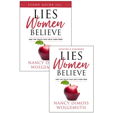 - Lies Women Believe + Study Guide for Lies Women Believe - 2 book set
