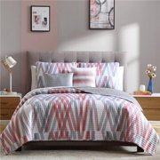 Bixby 4 Piece Printed Quilt Set, Twin