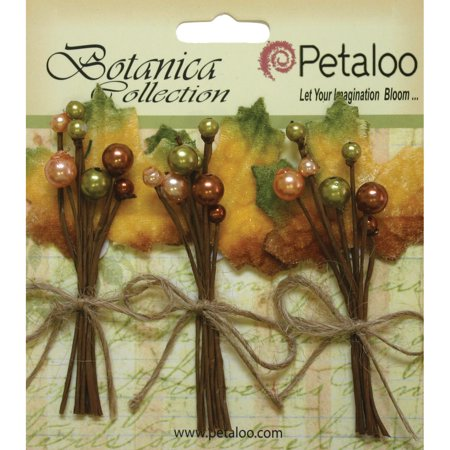 Petaloo Botanica Fall Pick Velvet Fall Berry