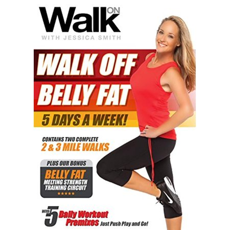 walk on walk off belly fat 5 days a week with jessica
