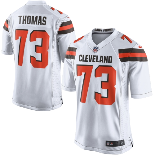 Joe Thomas Cleveland Browns Nike Game Jersey - White - S
