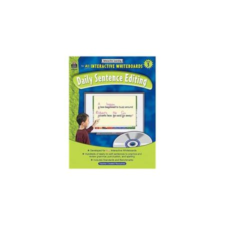 Interactive Learning Gr 3 Daily Sentence Editing Bk W Cd