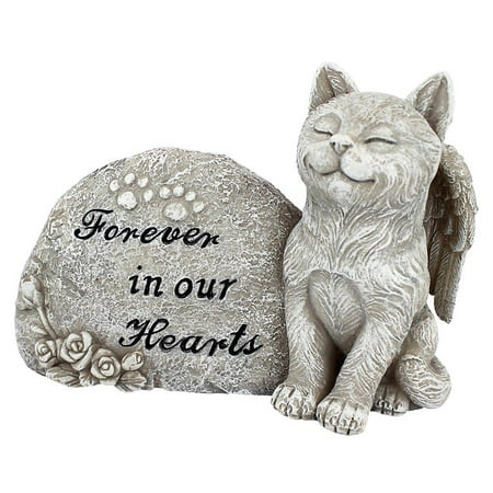 Design Toscano Forever in Our Hearts Memorial Cat Statue ()