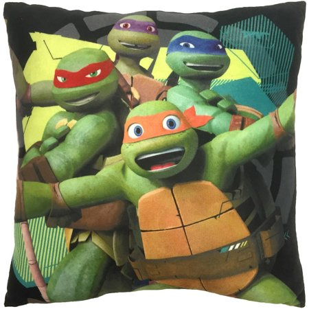 Ninja Turtle Decorative Pillow : Teenage Mutant Ninja Turtles Decorative Pillow - Walmart.com
