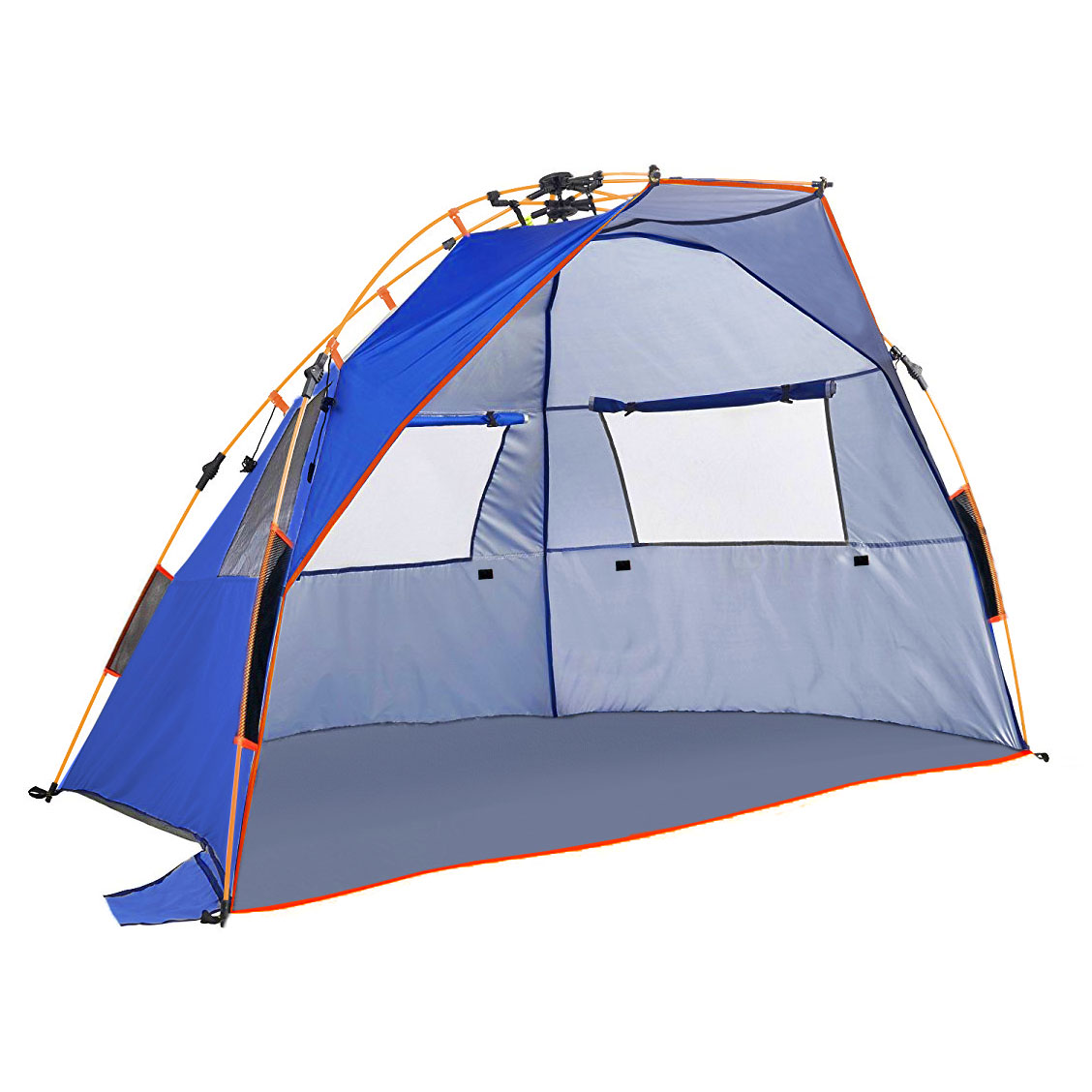 Qwest Instant Half Dome Beach Tent Canopy Shelter Sun Portable Shade Tarp by Qwest
