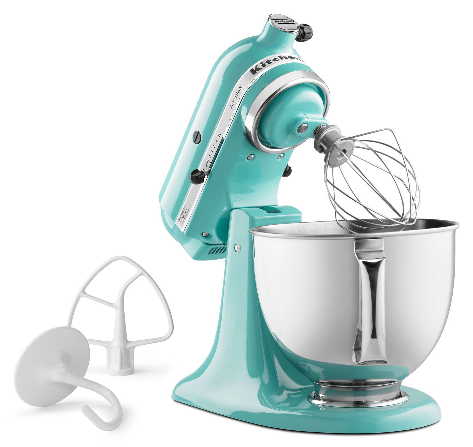 Beautiful KitchenAid Artisan Series 5 Quart Tilt Head Stand Mixer, Aqua Sky  (KSM150PSAQ)   Walmart.com