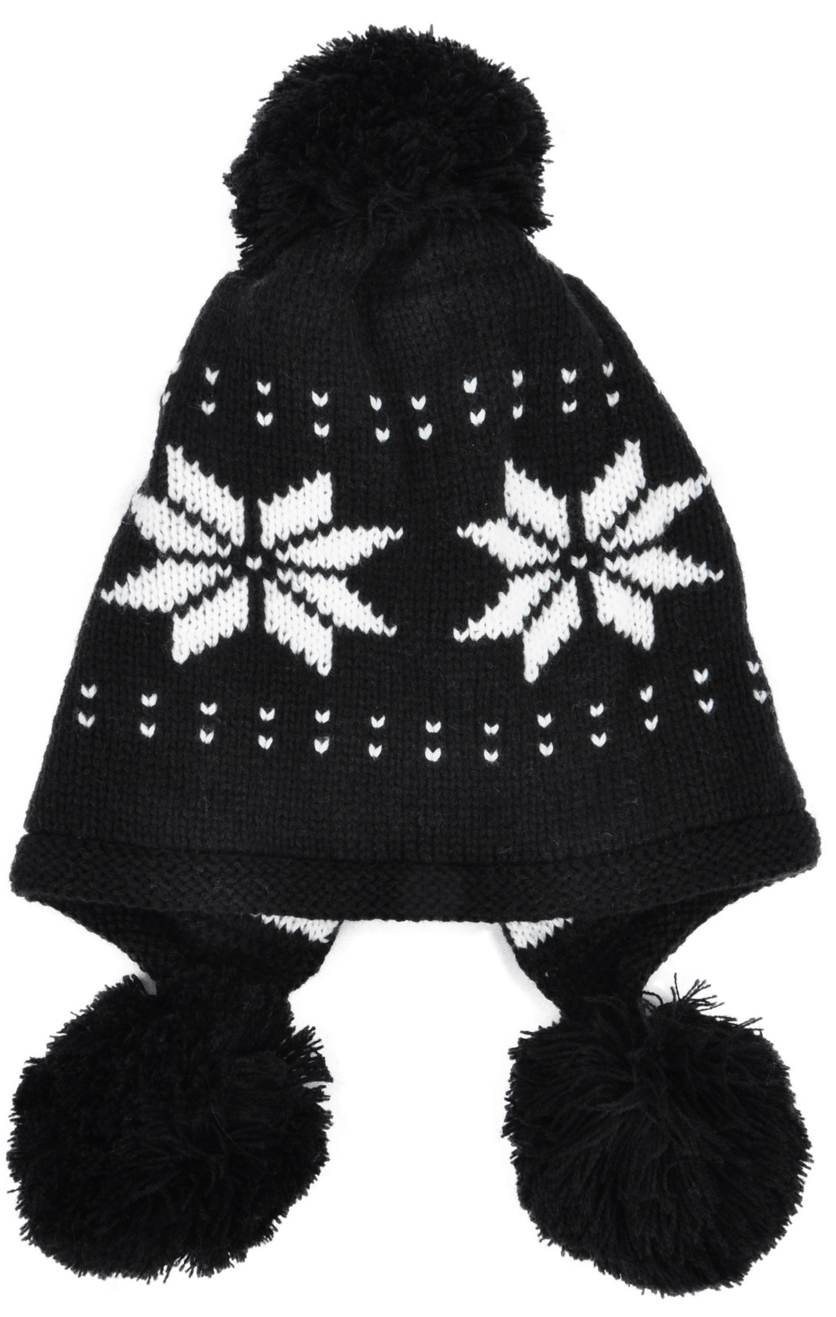 Simplicity Simplicity Womens Knit Ear Flap Winter Hat Beanies