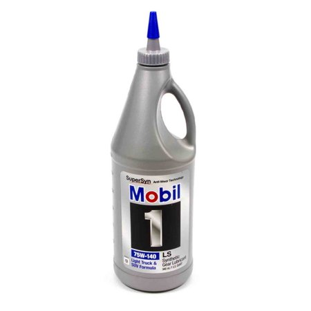 Mobil 1 Gear Lube 75W140 1 qt P/N 44815 ()