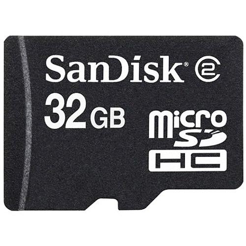 SanDisk 32GB MicroSD High Capacity Card