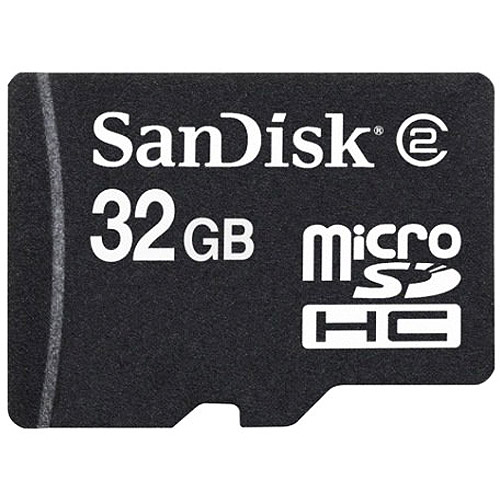 SanDisk 32GB MicroSD High Capacity Card