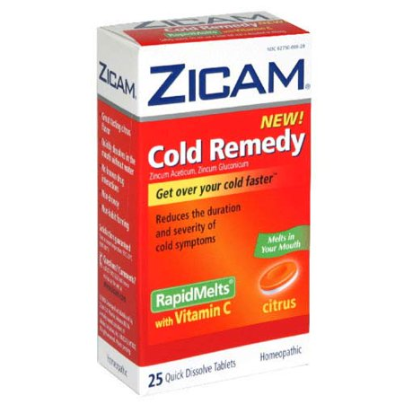 ZICAM - Cold Remedy Rapid Melt + Vitamin C (Homeopathic Medicine To Increase Height After 18)
