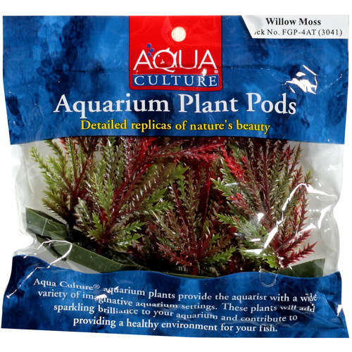 Aqua Culture Aquarium Plant Pods, 6pk