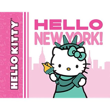 Hello Kitty, Hello New York! - Halloween Hello Kitty Color Pages