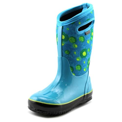 Bogs Classic Watercolor Youth US 13 Blue Snow Boot