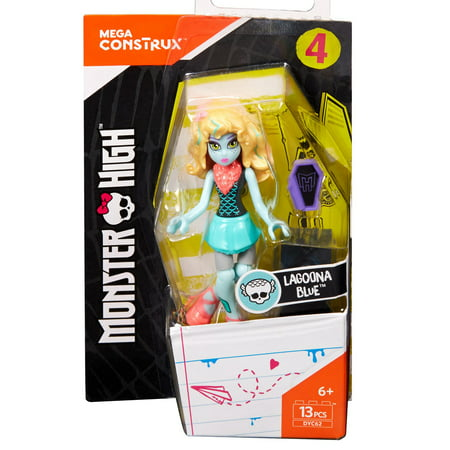 Mega Construx Monster High Lagoona Blue Doll for $<!---->