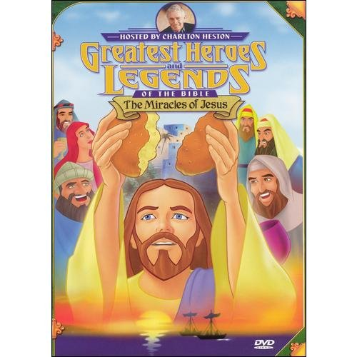 Greatest Heroes And Legends Of The Bible: Miracles Of Jesus (Full Frame)