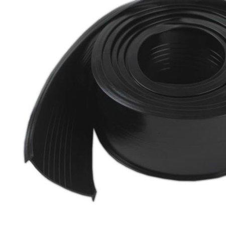 M-D Products 08462 Black Garage Door Vinyl Bottom Replacement, 2-1/2