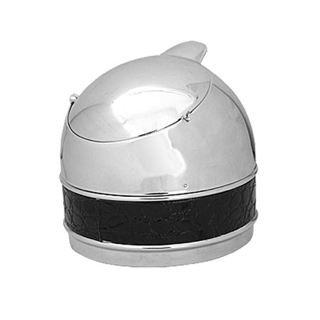 Unique Bargains Home Office Stainless Steel Smokeless   Ashtray ()