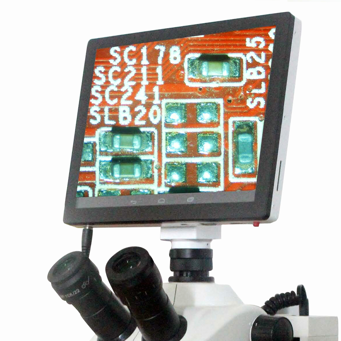 AmScope 5.0MP TouchPad Microscope Camera New by